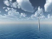 Generador de viento stock de ilustración