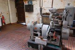 Generador del faro del embarcadero de Tynemouth Imagenes de archivo