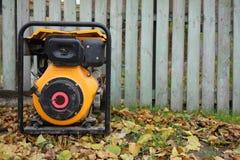 Generador diesel eléctrico Generador diesel para la emergencia Electric Power Imagen de archivo