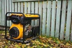 Generador diesel para la emergencia Electric Power fotografía de archivo libre de regalías