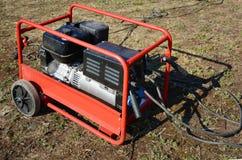 Generador diesel para la emergencia Electric Power Generador diesel eléctrico Fotografía de archivo