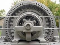 Generador eléctrico grande Imágenes de archivo libres de regalías