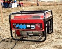 Generador eléctrico Fotografía de archivo