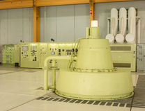 Generador hidráulico Fotografía de archivo