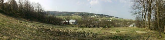 Generadores de los molinoes de viento Fotografía de archivo libre de regalías