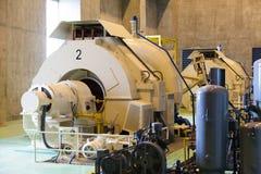 Generadores de poder con agua. Fotos de archivo libres de regalías