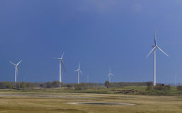Generadores de viento Fotos de archivo