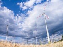 Generadores de viento Foto de archivo libre de regalías