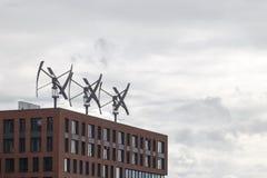 Generadores de viento Imagenes de archivo