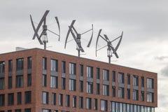 Generadores de viento Fotografía de archivo