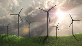 Generadores de viento Imagen de archivo