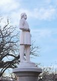 General Albert Sydney Johnson da estátua, o memorial de guerra confederado em Dallas, Texas foto de stock