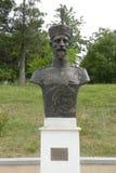 General Alexandru Averescu, statue in the Marasesti Mausoluem Stock Photos