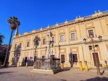 General Archive of the Indies in Seville, Spain Stock Image