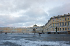 General Army Staff Building. In Saint Petersburg, Russia Stock Images