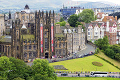 General Assembly Hall of the Church of Scotland at Edinburgh Royalty Free Stock Image