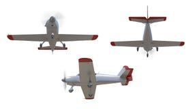 General aviation aircraft render Stock Photos