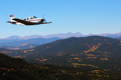 General Aviation - Beechcraft Bonanza Stock Image
