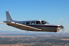 General Aviation - Piper Saratoga Aircraft Stock Photos