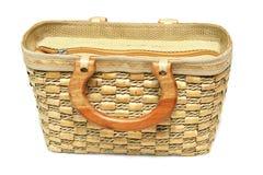 General bamboo Handbag Royalty Free Stock Photo