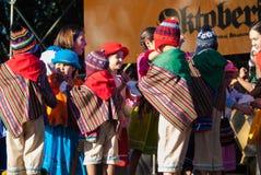 General Belgrano 2016 del chalet de Oktoberfest Imágenes de archivo libres de regalías