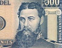 General Bernadino Caballero Stock Image
