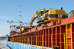 General cargo ship Arkturus Royalty Free Stock Images