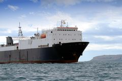 General cargo ship Royalty Free Stock Image