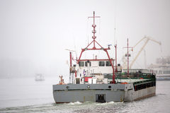 General cargo vessel Stock Image