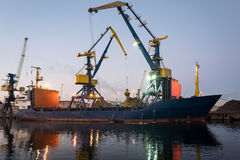 General cargo vessel Royalty Free Stock Images