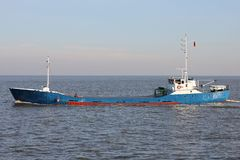 General cargo vessel Stock Images