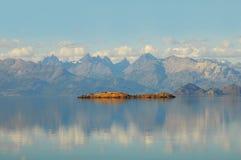 General Carrera湖。 免版税库存图片