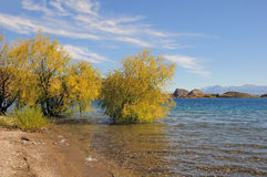 General Carrera湖。 库存图片