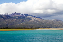 General Carrera Lake in Patagonia, Chile. Landscape at the General Carrera Lake in Patagonia, Chile Stock Images