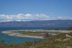 General Carrera no Patagonia, o Chile de Lago Fotos de Stock Royalty Free