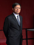 General chino Consul Wen Zhenshun Imagen de archivo libre de regalías