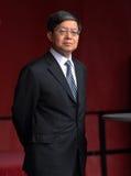 General cinese Consul Wen Zhenshun immagine stock libera da diritti