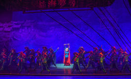 "General-Dance drama ""The Dream of Maritime Silk Road"" Royalty Free Stock Photo"