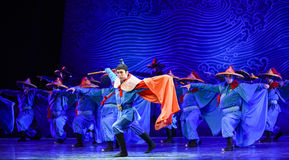 "General-Dance drama ""The Dream of Maritime Silk Road"" Royalty Free Stock Images"