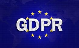 GDPR background royalty free stock photos