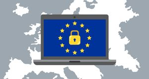 General Data Protection Regulation GDPR Concept Illustration - 25 May 2018. This is General Data Protection Regulation GDPR Concept Illustration - 25 May 2018 Royalty Free Stock Images