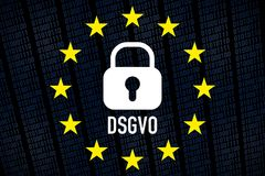 DSGVO Royalty Free Stock Image