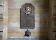 General de brigada Smedley D Butler comemorativo, câmara municipal, Philadelphfia fotos de stock royalty free