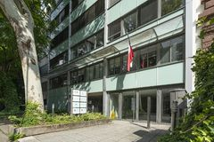 General de consulado do Chile em Francoforte fotos de stock