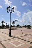 general de Gaulle Square在阿雅克修 免版税库存照片
