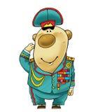 General de la planta del tubérculo de la historieta del humor del dibujo de la patata de chaqueta Imagen de archivo libre de regalías