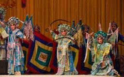 """General de las mujeres de los generales de las mujeres de Pekín Opera"""" de la familia de Yang del  del € de Yang Familyâ Fotografía de archivo"""