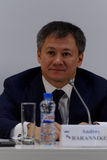 General Director of communication agency SPN  Andrey Barannikov Stock Image