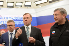 General director of JSC Russian Grids Oleg Budargin Stock Images