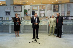 General director of National Library of Russia Anton Likhomanov Stock Photo